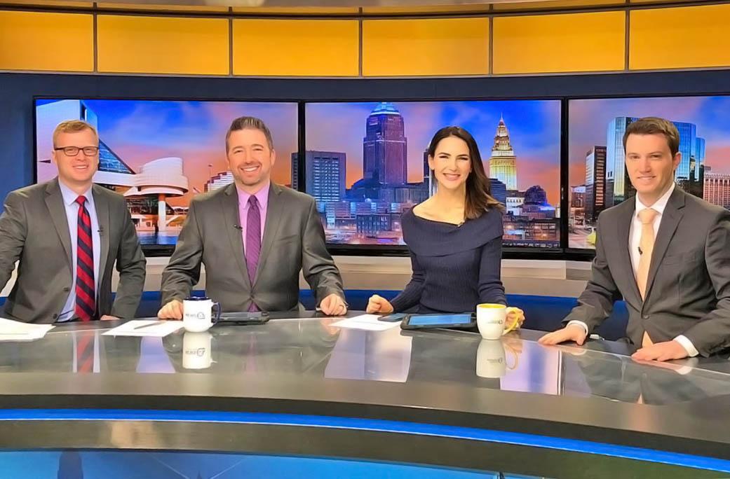 WEWS News anchors at News HQ