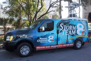 Channel 8 News Tampa Weather Van