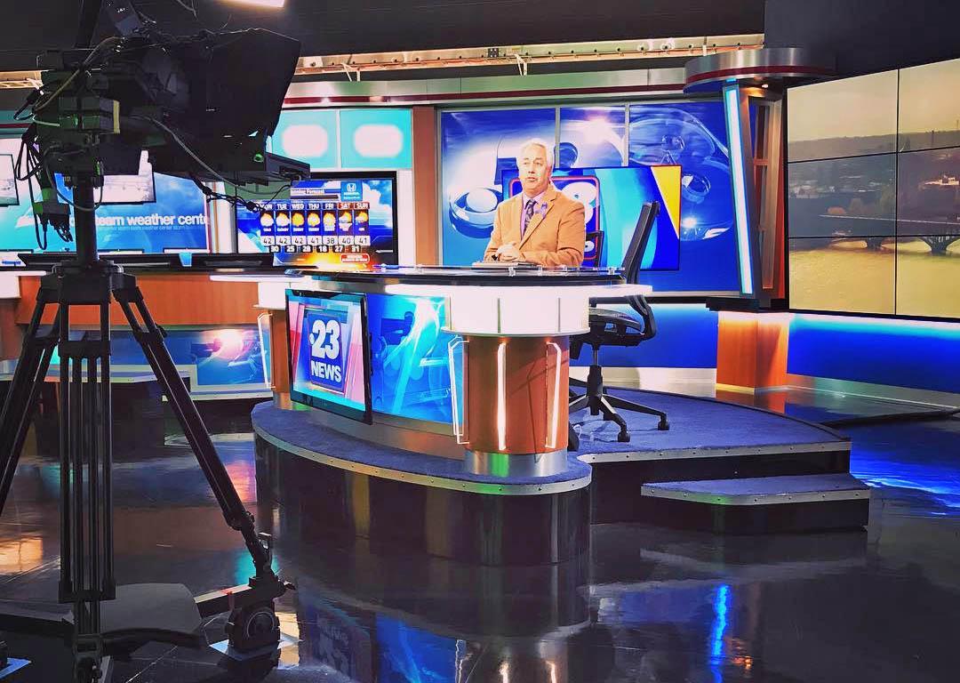 WIFR 23 News newscaster