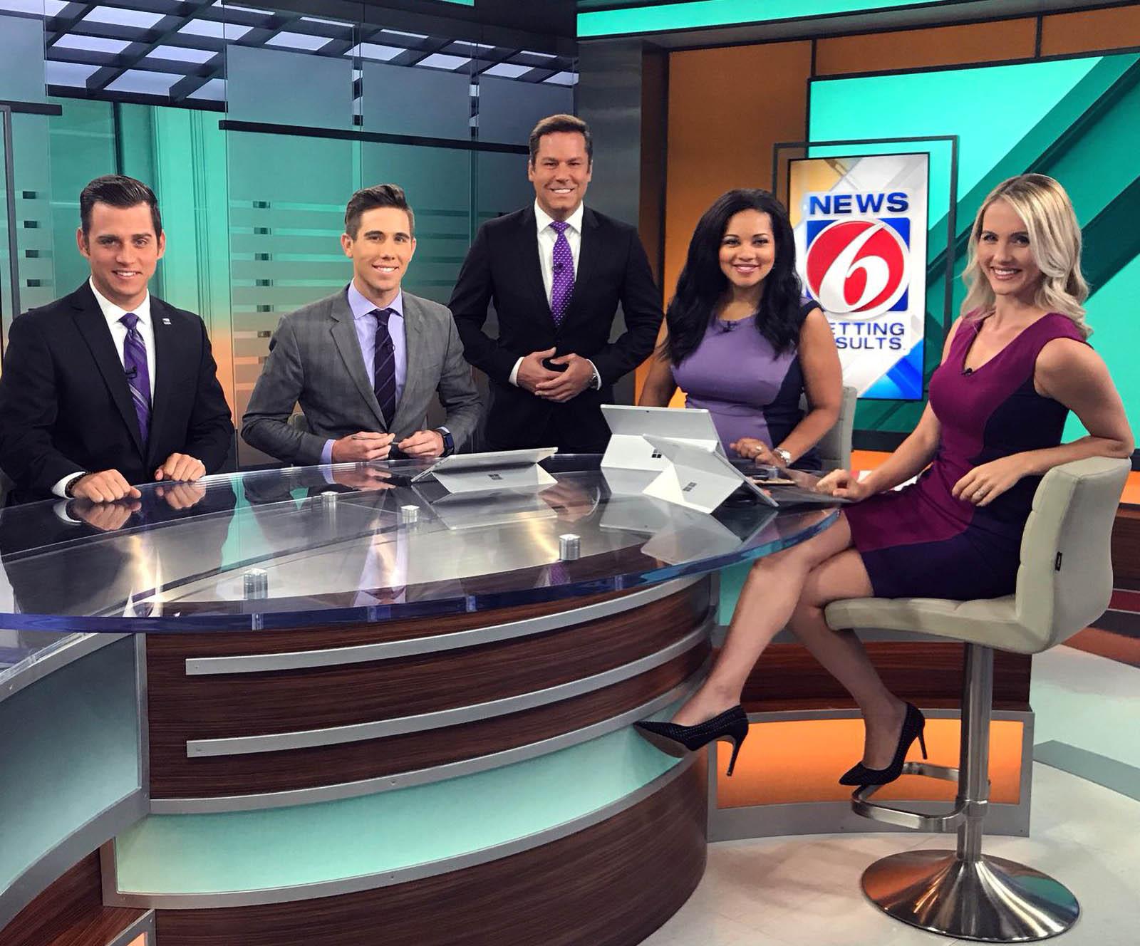 WKMG TV newscasters