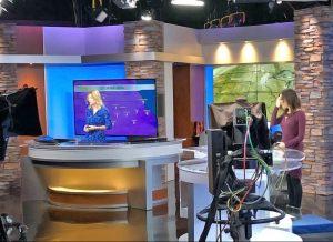 WREX News Rockford Newscasters on Set