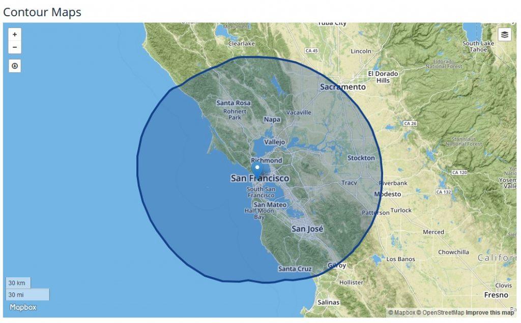 ABC 7 San Francisco coverage area
