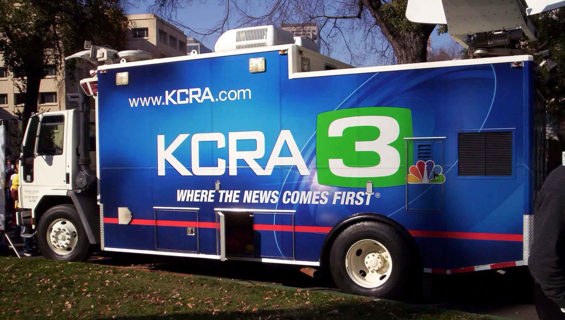 KCRA News Truck