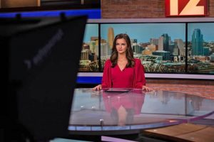 Kathryn Robinson covering news