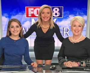 Lindsay Tuman, Katie Garner, with another newscaster