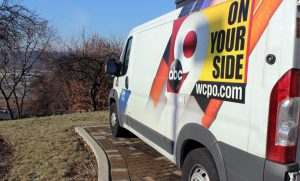 Live coverage van for WCPO News
