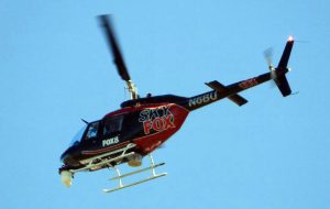 Sky Fox 8 - Aerial News Coverage Helicopter