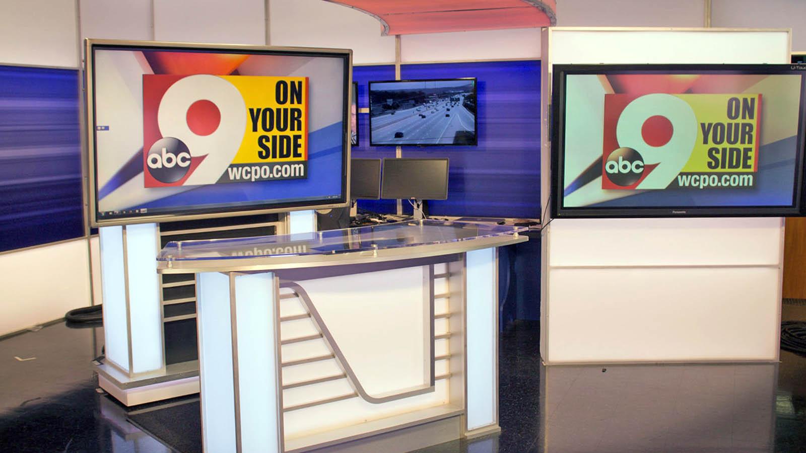 WCPO News live streaming studio