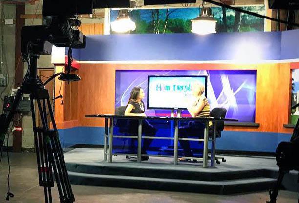 WRDW News studio room