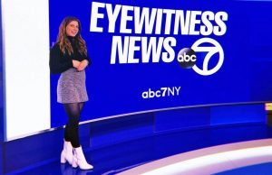 Alex Ciccarone covering news at WABC TV studio