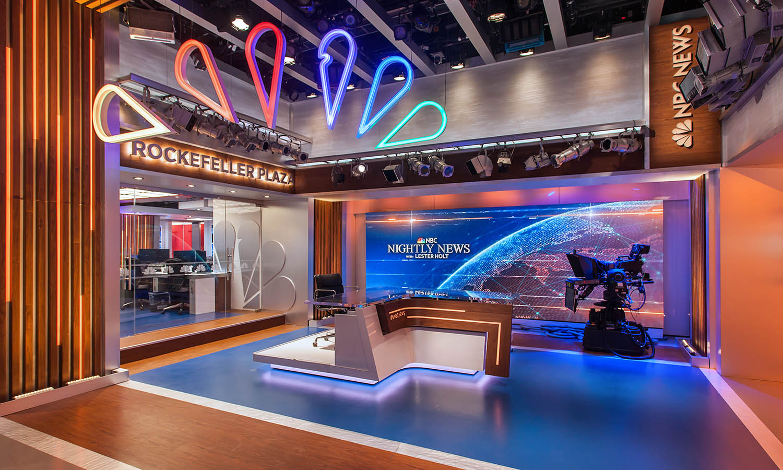 NBC New York news room