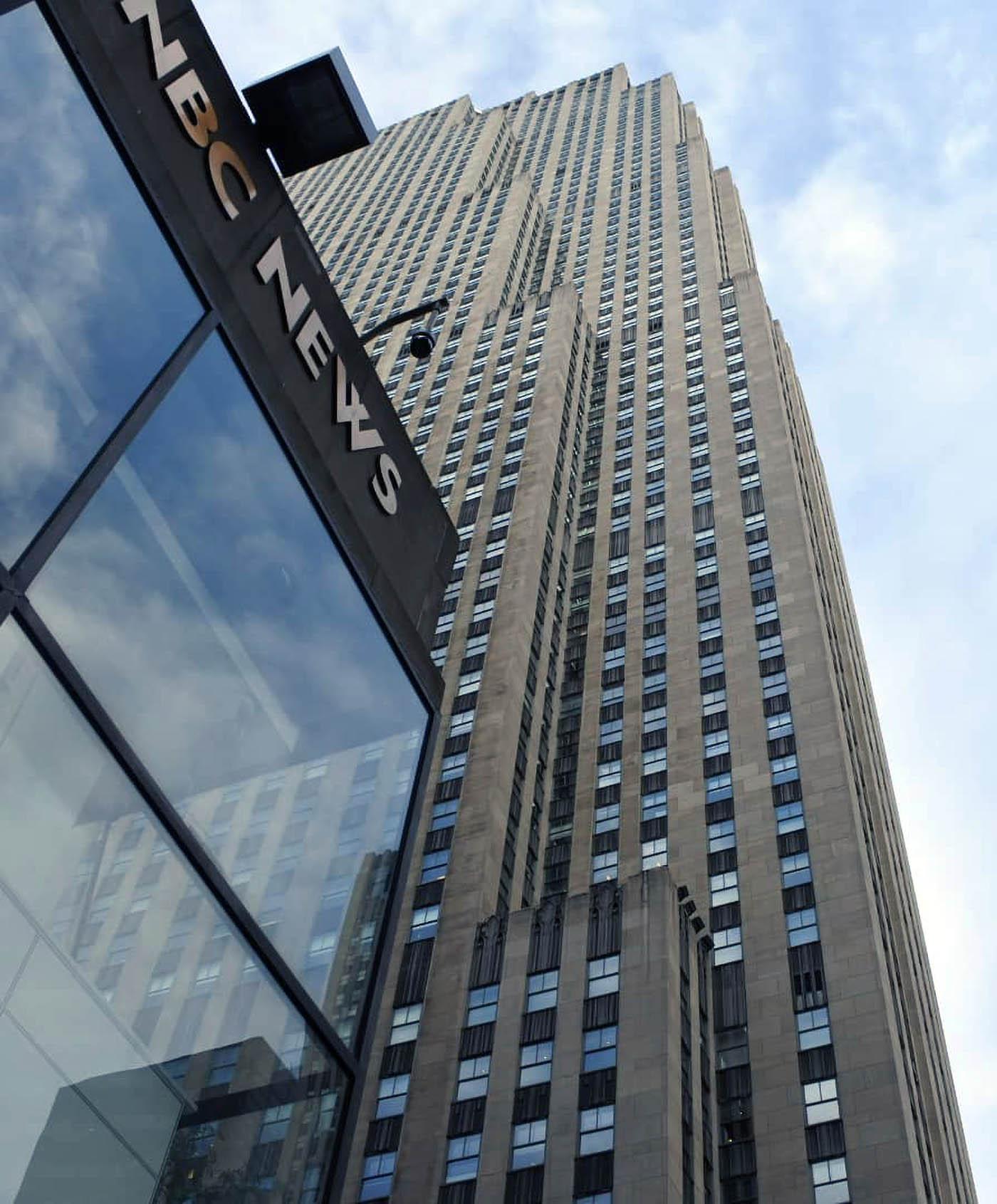 NBC News studio building