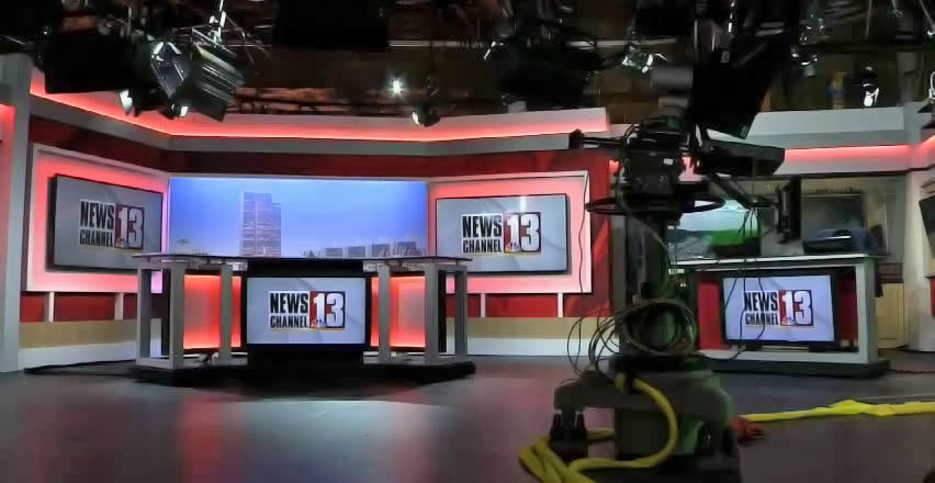 WNYT News live streaming studio