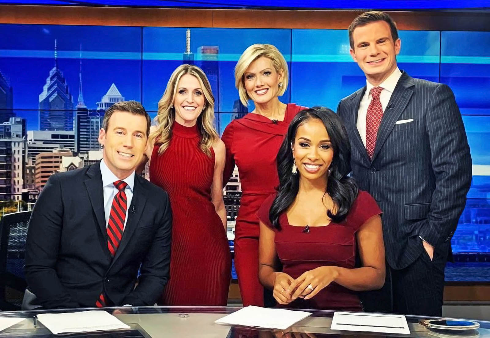 WPVI 6ABC News Philly newscasters