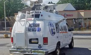 WPVI live streaming satellite van