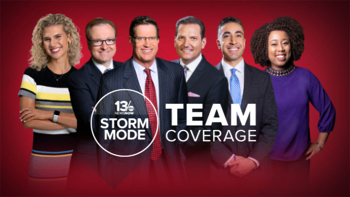 WVEC 13 News Now weather team