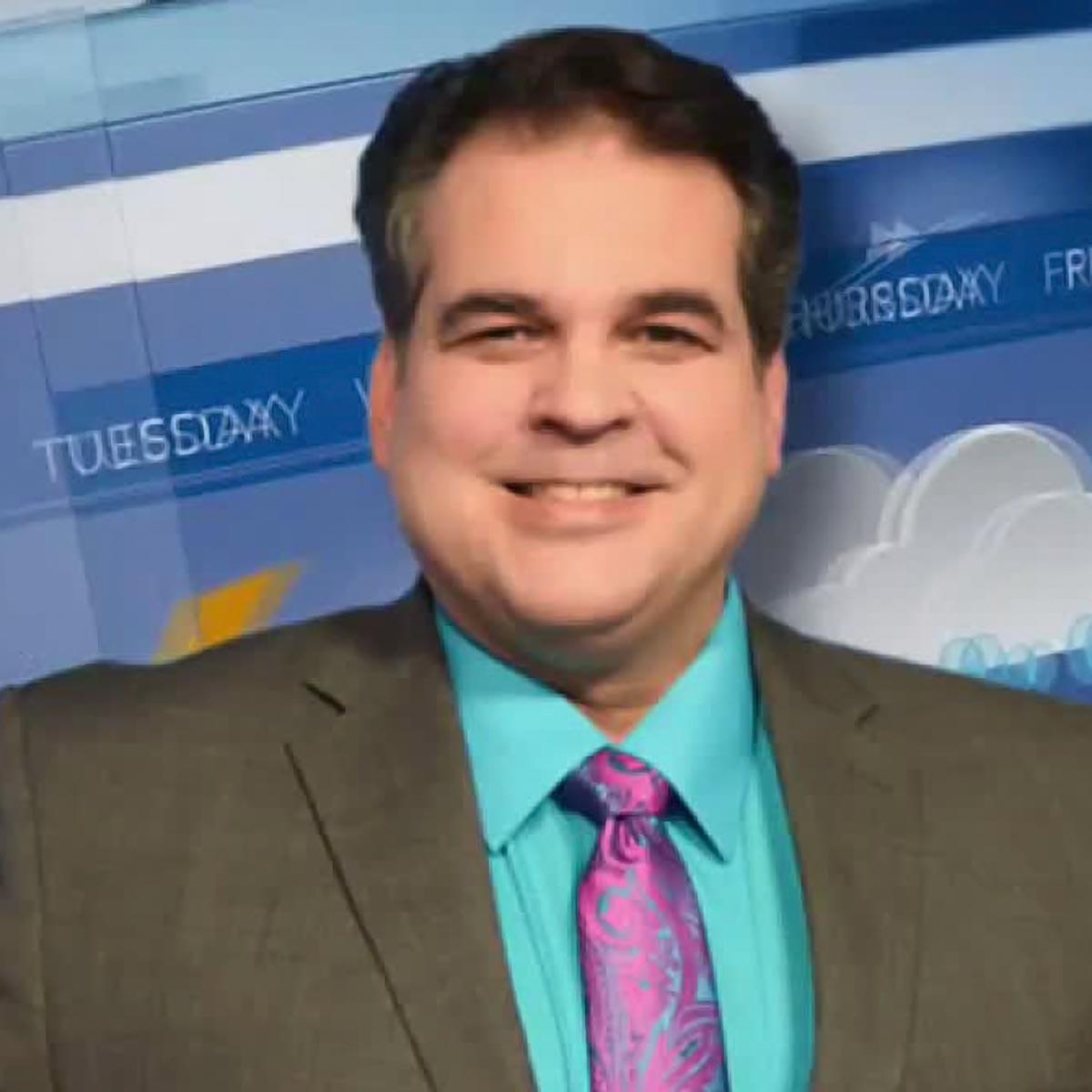 Dave Busch team member of WCAX News