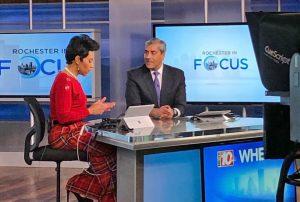 NBC 10 WHEC anchors briefing news