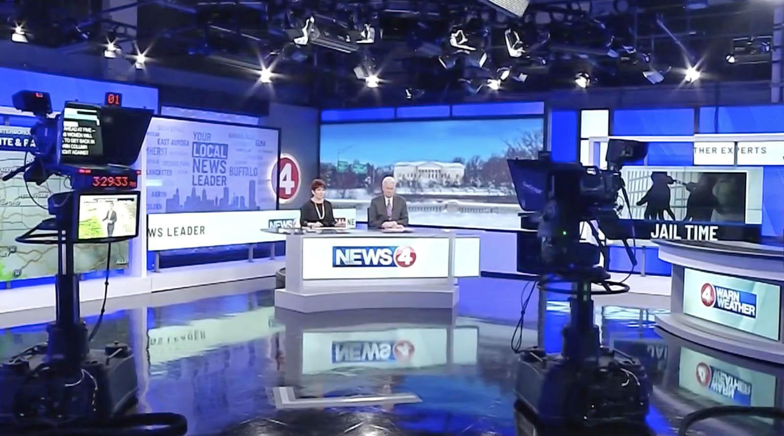 WIVB News Channel 4 Buffalo live streaming studio
