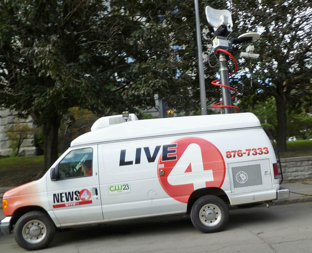 WIVB News satellite van