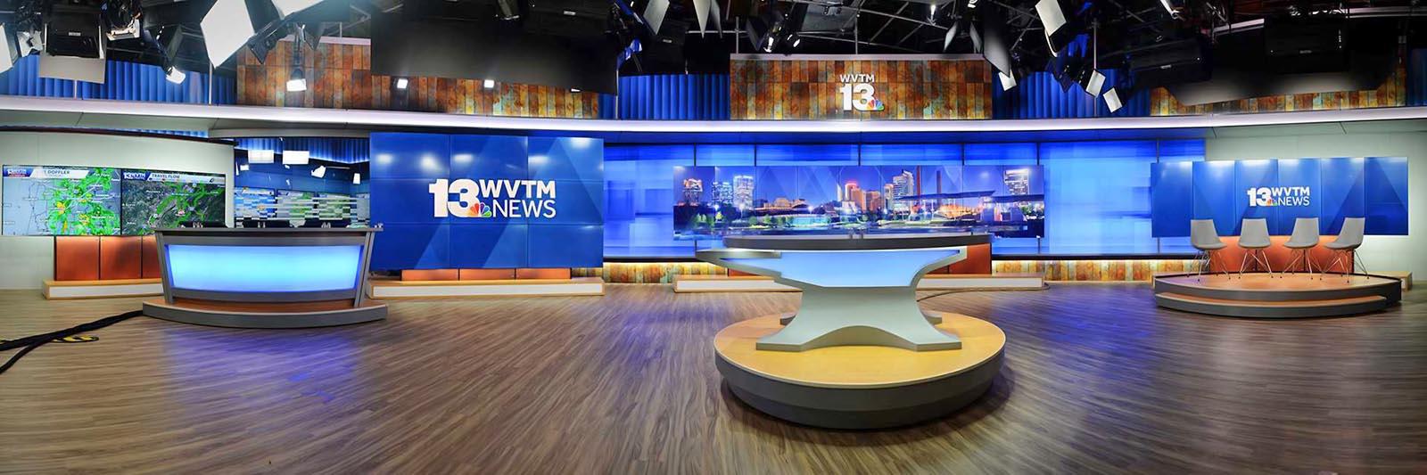 WVTM 13 News live streaming studio