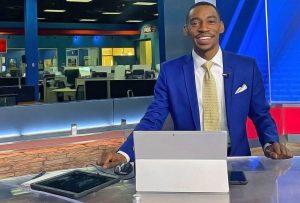 Darius Jamal at Fox 59 News studio