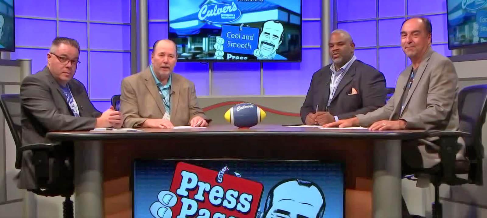 Fox 47 News Press Pass studio