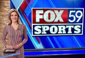 JoJo Gentry anchoring for Fox 59 News