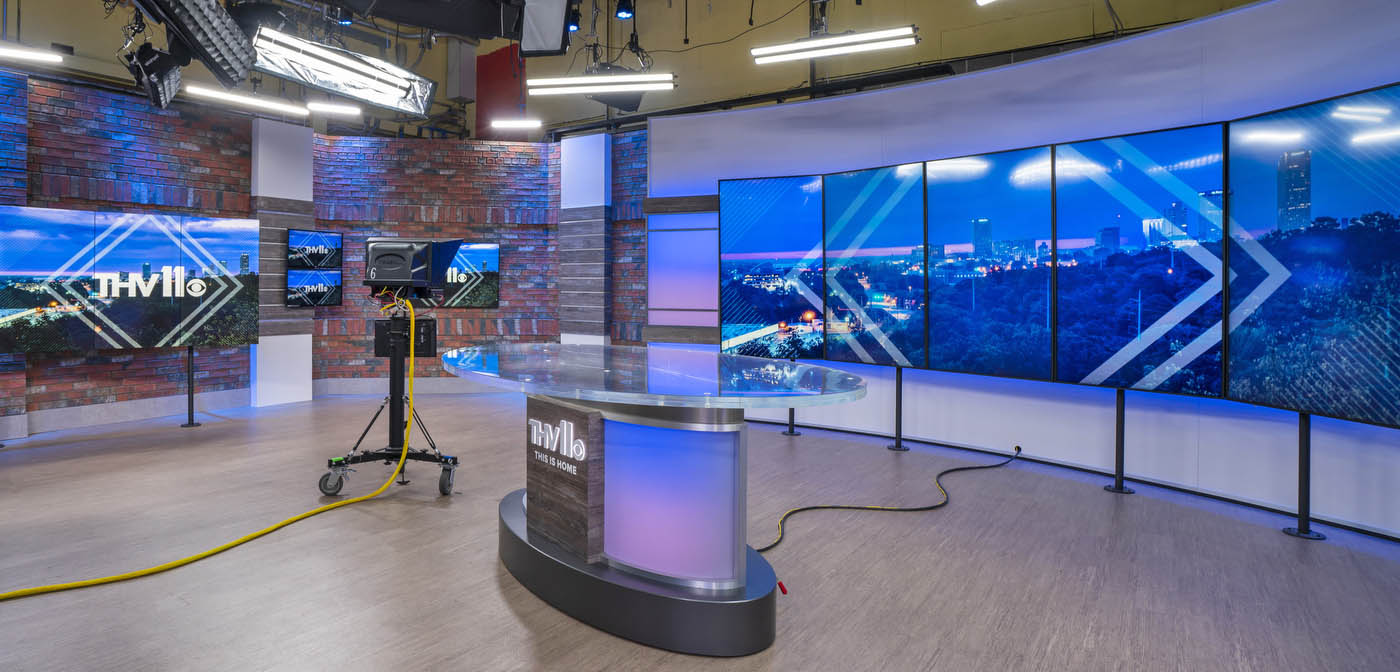 THV11 KTHV News studio
