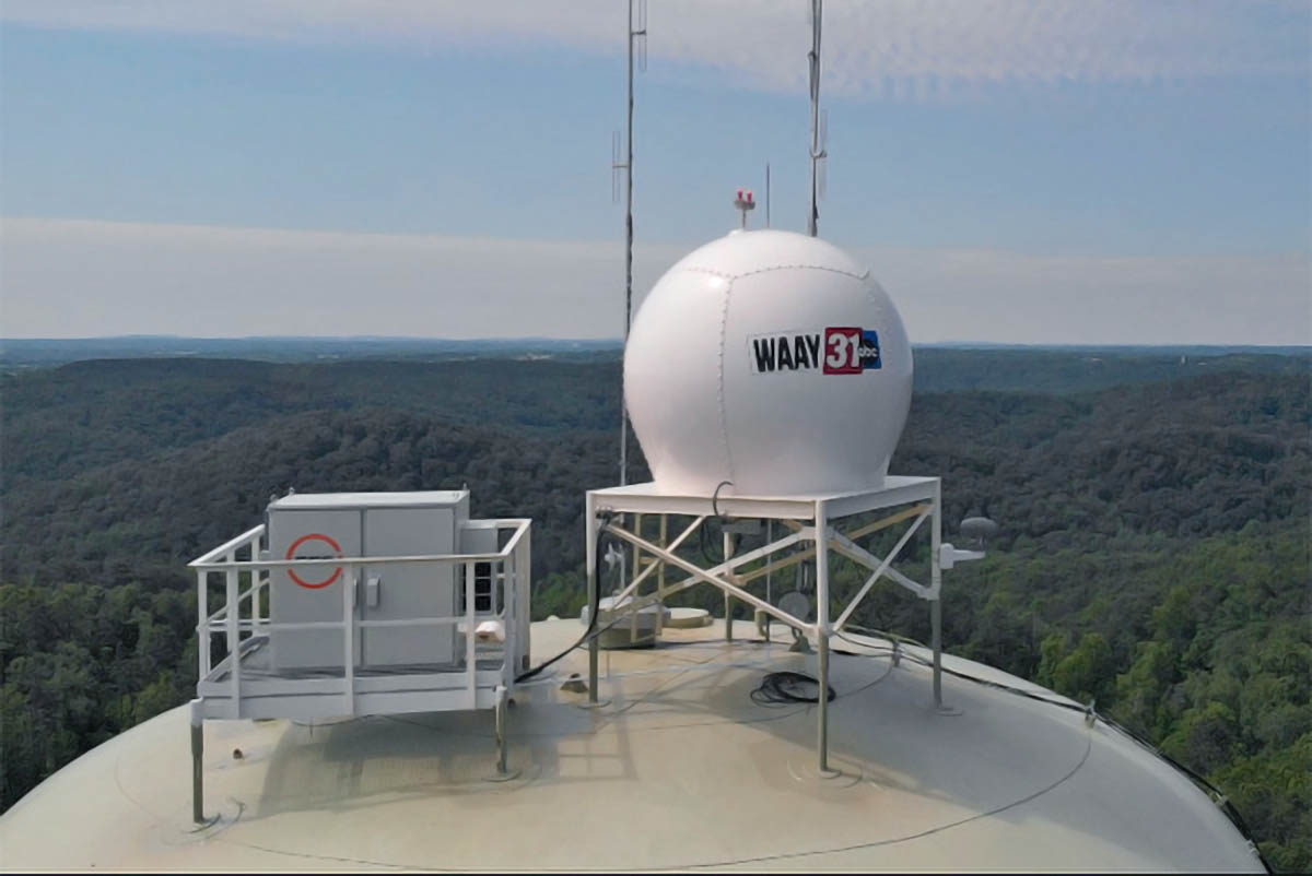 WAAY 31 News satellite broadcasters