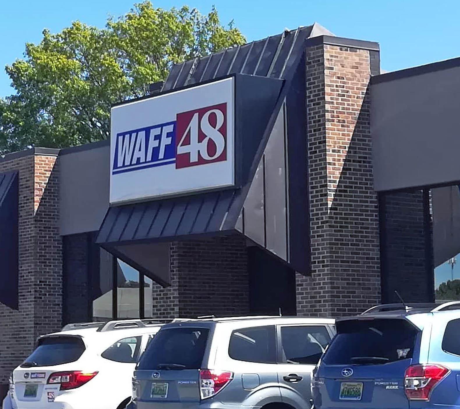 WAFF 48 News studio location