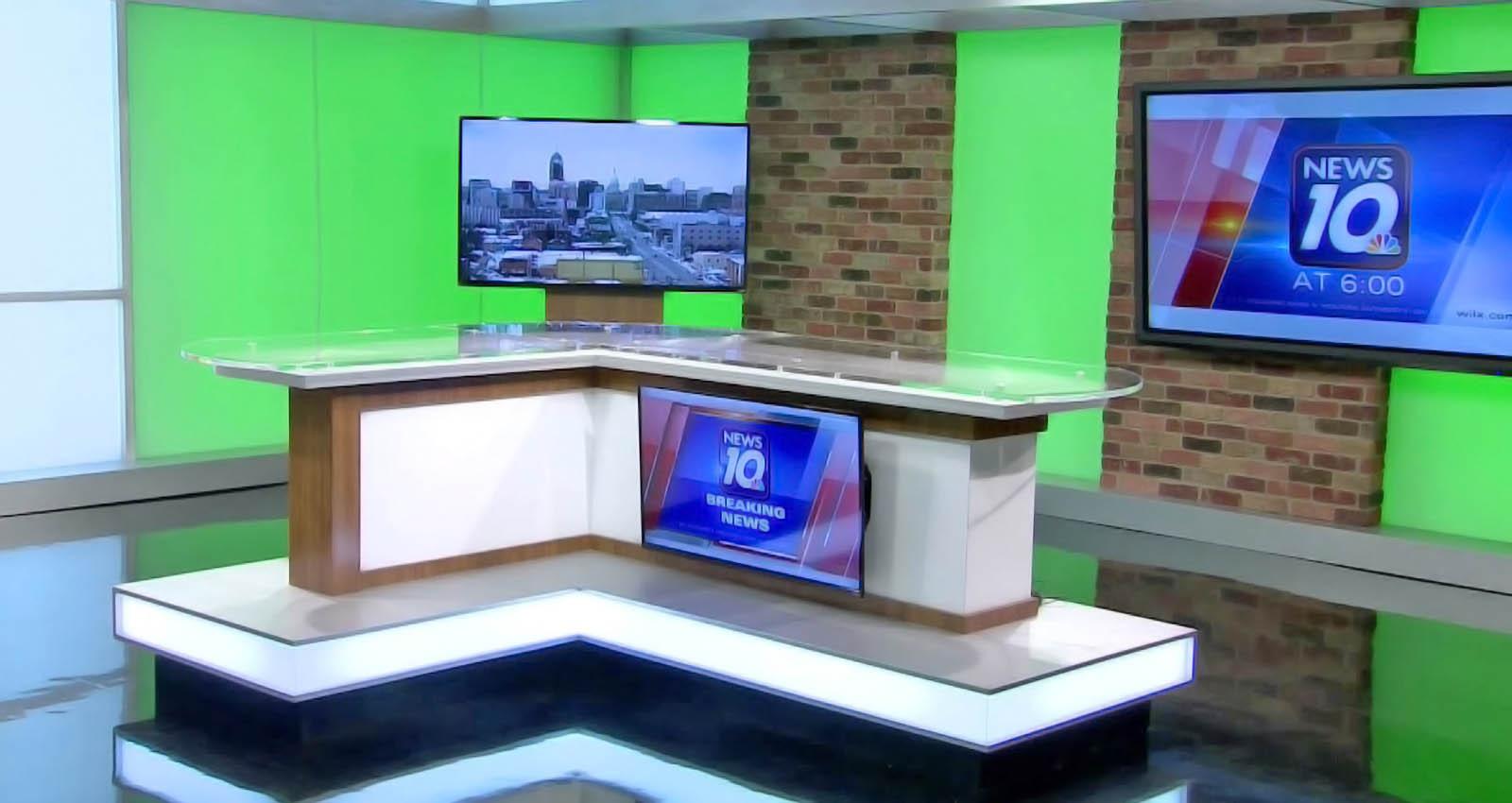 WILX News live coverage studio