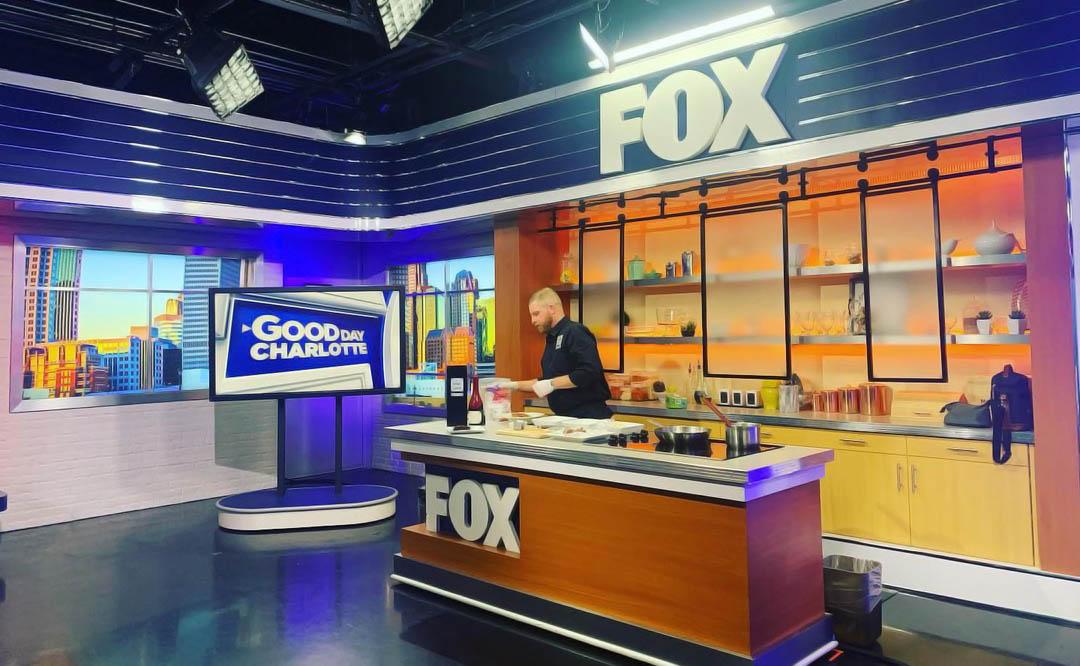Good Day Charlotte broadcasting studio