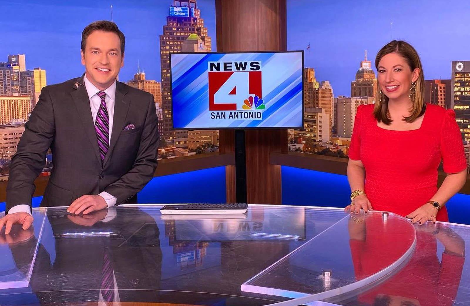 Robert Price and Emily Baucum covering news updates for News 4 San Antonio