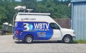 WBTV News satellite van