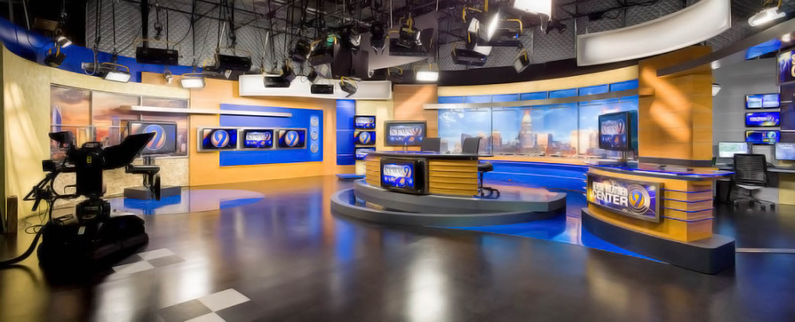 WSOC TV News studio