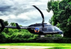 WSOC TV news chopper