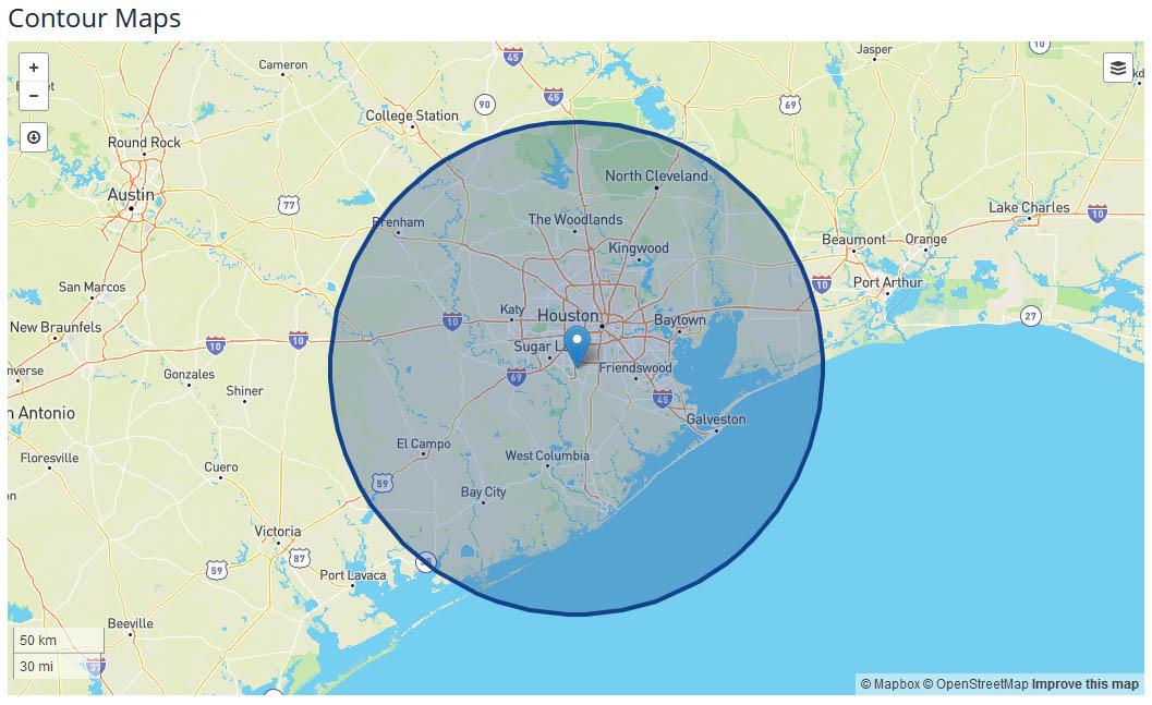 Click2Houston Coverage Map