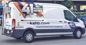 KSHB 41 News Van