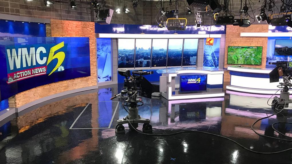 WMC Action News 5 Live Coverage Studio