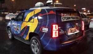 WMC Action News 5 Satellite Van