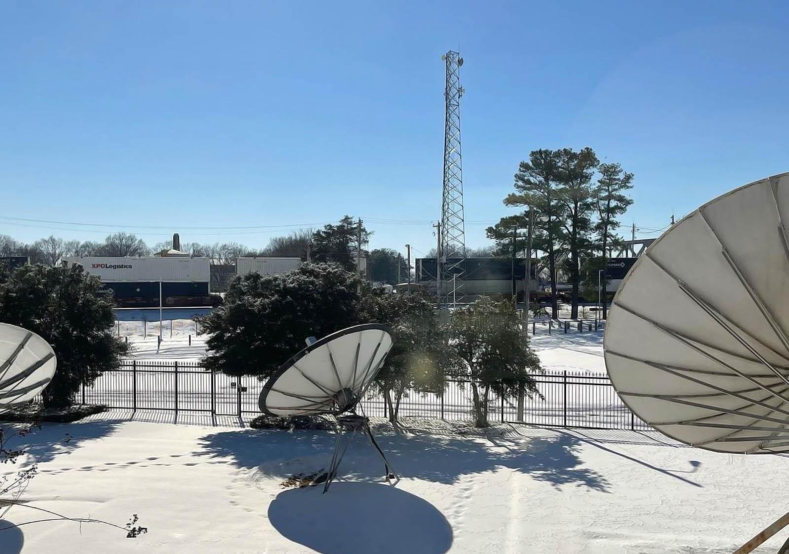 WREG News Channel 3 Memphis Live Coverage Studio