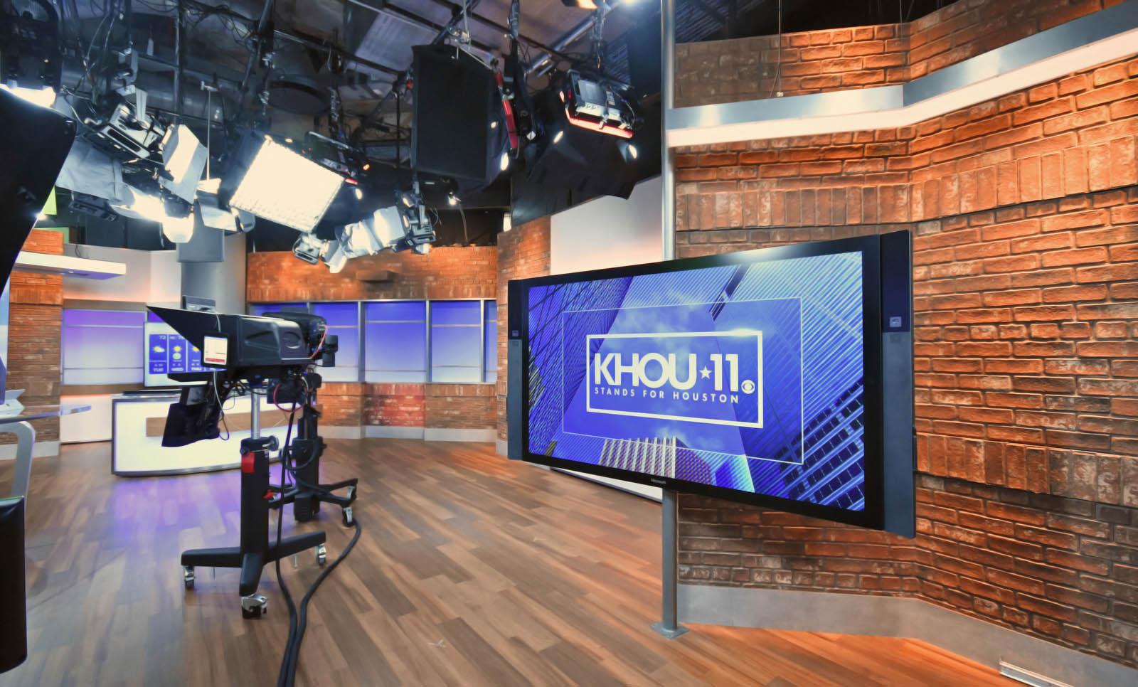 KHOU 11 News Live Coverage Studio