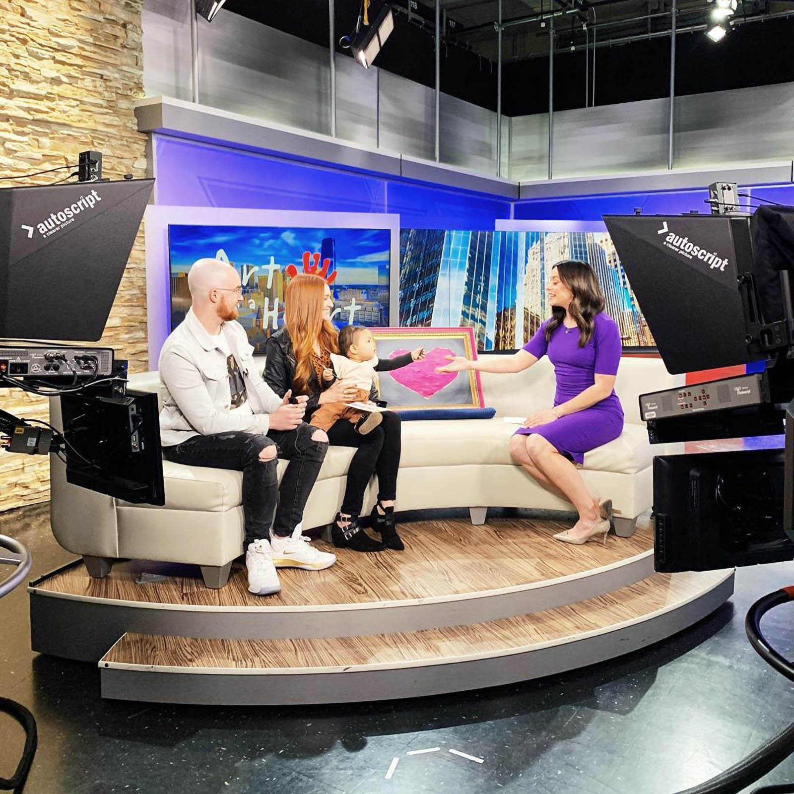 KOCO 5 News interview set