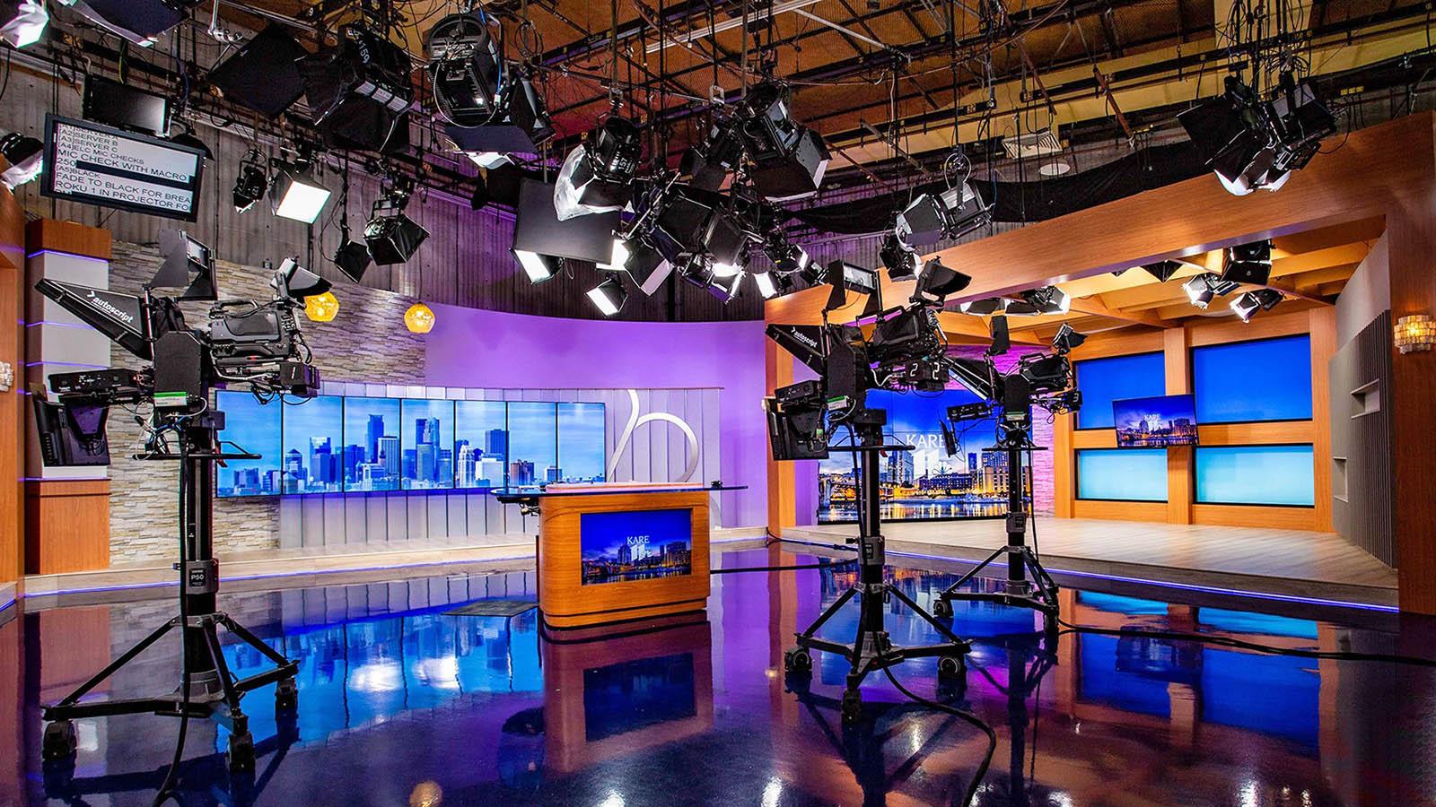 KARE 11 News Live Coverage Studio