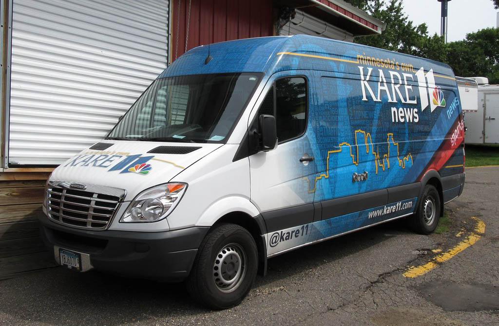 KARE 11 News Satellite Van