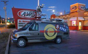 KPAX News Satellite Van
