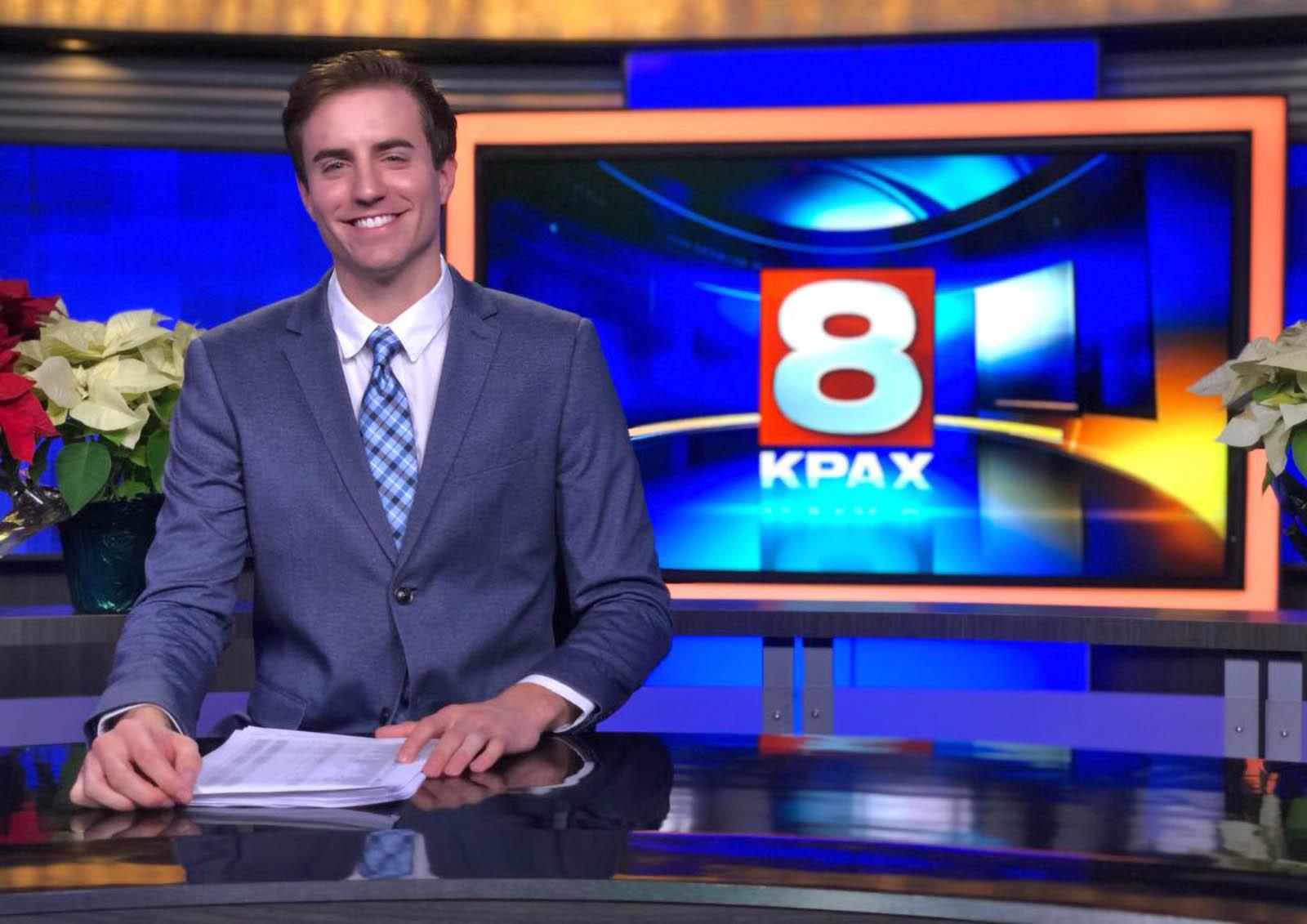 Kent Luetzen Anchoring for KPAX News