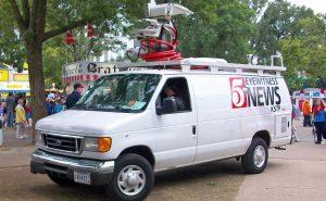 Satellite Van KSTP News