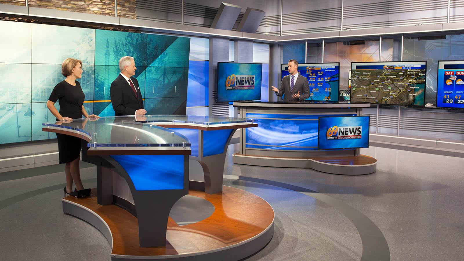 WFMZ 69 News Live Coverage Studio
